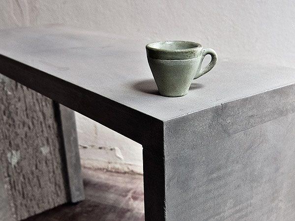 Design-Objekte aus Beton |